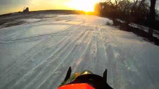 3. Arctic Cat 2006 Firecat F6 Trail riding and playing around