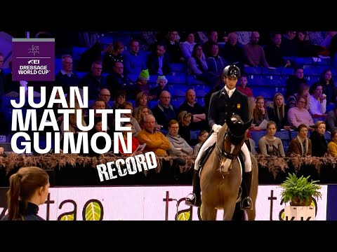 Juan Matute Guimon & Quantico Record Breaking Performance in Mechelen | FEI Dressage World Cup™