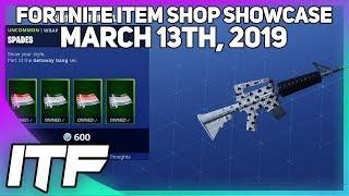 Fortnite Item Shop *NEW* WILD CARD WRAP BUNDLE! [March 13th, 2019] (Fortnite Battle Royale)