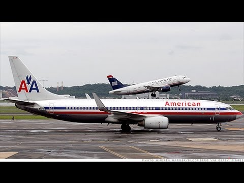 American Airlines & US Airways Merging, Biggest US Airlines