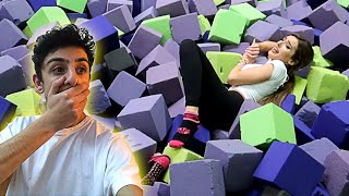 Video Molly ACTUALLY GOT INJURED by doing this... (TRAMPOLINE PARK DARES) | FaZe Rug MP3, 3GP, MP4, WEBM, AVI, FLV Maret 2019