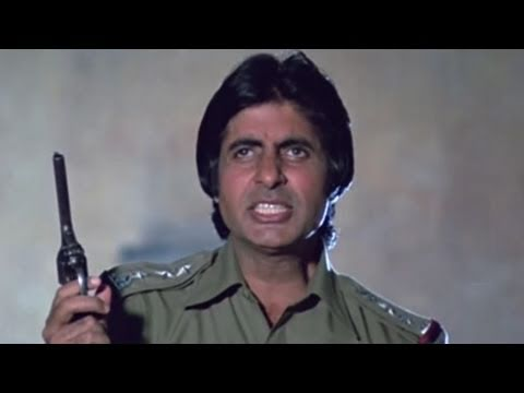 Amitabh Bachchan fights with criminal | Inquilaab | Action Scene 7/21