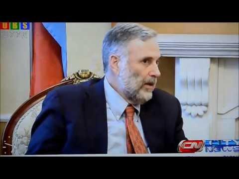 James S. Fishkin & Д.Баттулга on UBS tv