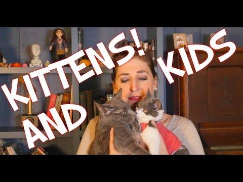 Kittens and Kids | Mayim Bialik