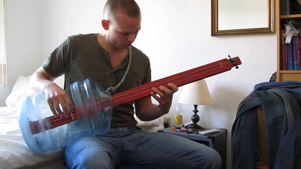 How To Make A Bottle Bass Guitar
