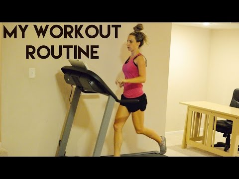 My Home Workout Routine (Vegan + Working Mom)