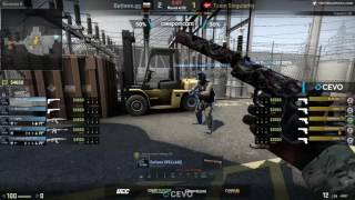 Outlaws vs Singularity - CEVO Main Season 12 - map2 - de_nuke @toll