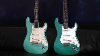 Video Vintage Fender 1961 Stratocaster vs. CustomShop model comparison MP3, 3GP, MP4, WEBM, AVI, FLV Juni 2018