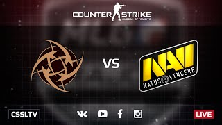 Na'Vi vs NiP, game 2