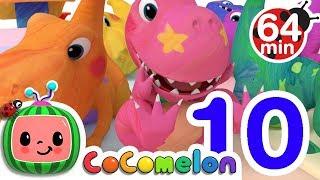 Video Dinosaur Number Song | +More Nursery Rhymes & Kids Songs - CoCoMelon MP3, 3GP, MP4, WEBM, AVI, FLV Juni 2019