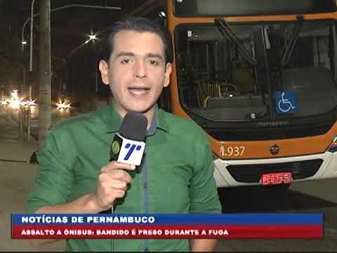 [BRASIL URGENTE PE] Bandido é preso por asssalto a ônibus