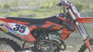 4. Tested: 2016 KTM PowerParts 350 SX-F