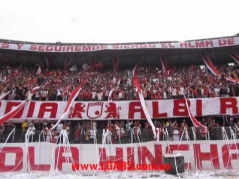 La Guardia Albi-Roja Sur 1997 - Clásico 262 - La Guardia Albi Roja Sur - Independiente Santa Fe