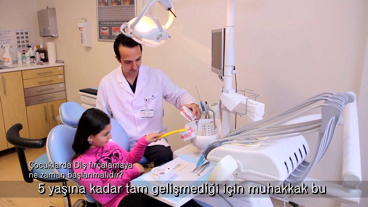 Çocuklarda diş fırçalamaya ne zaman başlanmalıdır?