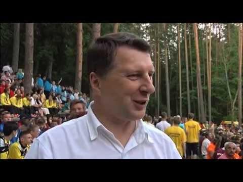Latvijas Jaunatnes vasaras Olimpiades gājiens un atklāšana