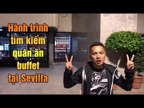 Thử thách bóng đá | Hành trình đi kiếm quán ăn buffet tại Sevilla Cùng Đỗ Kim Phúc - Thời lượng: 7:43.