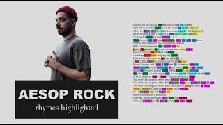 Aesop Rock - Daylight - Verse 1 - Lyrics, Rhymes Highlighted
