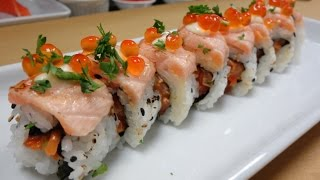 Video Crazy Salmon Roll - How To Make Sushi Series MP3, 3GP, MP4, WEBM, AVI, FLV Desember 2018