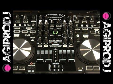 DENON MC6000MK2 Serato DJ Controller In-Depth Hardware Overview   agiprodj