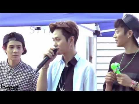 140724 대구 팬사인회2 junhyung (видео)