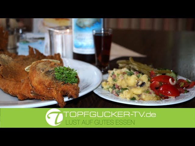 Moritzburger Karpfen – nach Fränkischer Art   Karpfen paniert   Rezept Empfehlung Topfgucker-TV