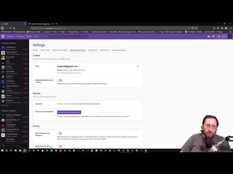 How to verify your Twitch email.