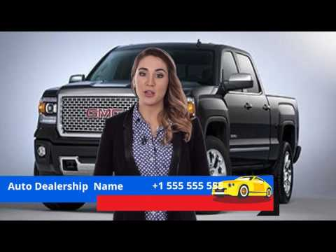 Video Commercial For Auto Dealership Demo #1