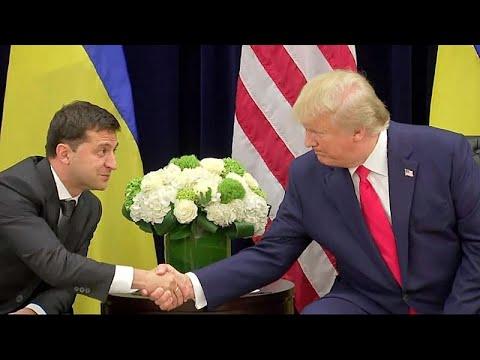 Όταν ο Τραμπ συνάντησε τον Ζελένσκι