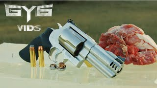 Smith & Wesson 500 vs. Pork Shoulder ...HOLY CRAP!