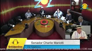 Llamada Charlie Mariotti comenta los médicos no tiene razón para ir huelga