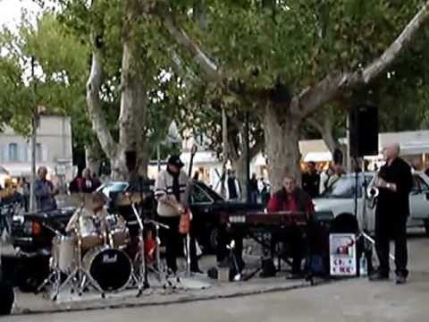 John Morgan Band At Place Des Lices In St Tropez