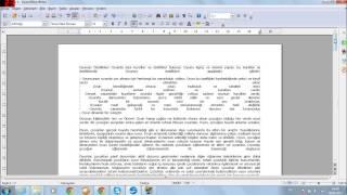 Open Office Sayfa Numaralandırma Nasıl Yapılır