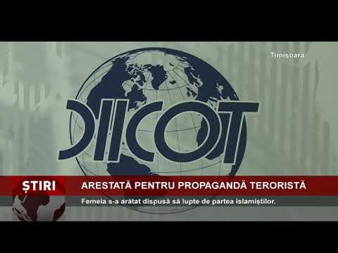 Femeia suspectată de propagandă teroristă, arestată preventiv