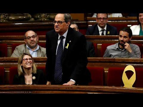 Την Δευτέρα νέα ψηφοφορία για την ανάδειξη του ηγέτη της Καταλονίας…