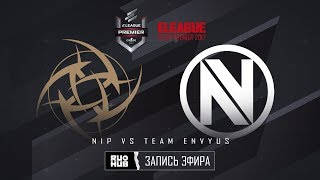 NiP vs Team EnVyUs - ELEAGUE Premier 2017 - map1 - de_cobblestone [ceh9, MintGod]