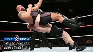 WWE Network: Brock Lesnar takes the giant to suplex city - Live from MSG: Lesnar vs. Big Show