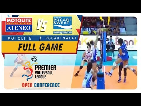 PVL OC 2018: Ateneo-Motolite vs. Pocari-Air Force   Full Game   3rd Set   September 23, 2018