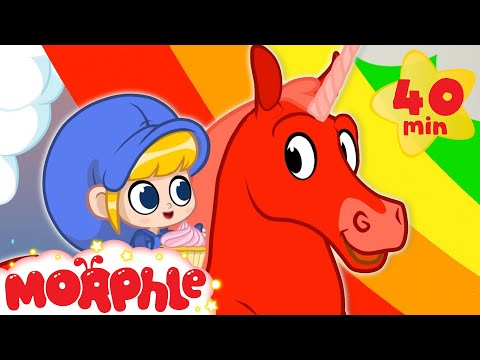 Rainbows and Unicorns - My Magic Pet Morphle | Cartoons For Kids | Morphle TV | Mila and Morphle