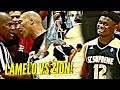 LaMelo Ball vs Zion Williamson WAS INSANE!! Lonzo Ball, Dame Lillard, OSN n INSANE CROWD Watching!