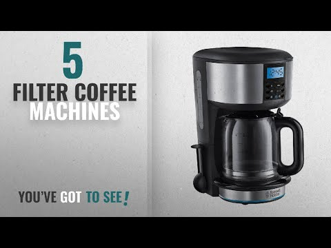Top 10 Filter Coffee Machines [2018]: Russell Hobbs Buckingham 1.25 L Filter Coffee Machine 20680 -
