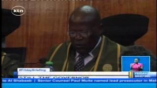 Dr. Evans Kidero Is Handed Back His Gubernatorial Office