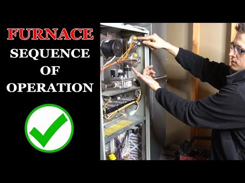 How a Furnace Works - Furnace Sequence of Operation