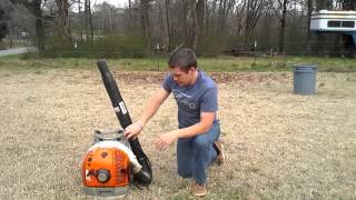 9. STIHL BR 600 blower review