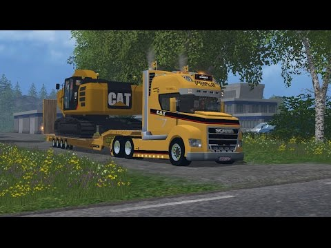 Scania Stax Goldhofer Pack v1.0