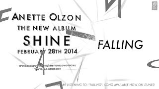"""Download Lagu Anette Olzon """"Falling"""" Official Lyric Video - The new album """"SHINE"""" OUT MARCH 28th 2014 Mp3"""