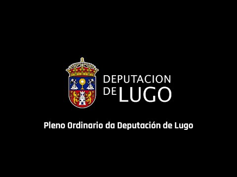 Pleno da Deputación de Lugo 28/06/2016