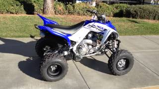 4. 2014 Yamaha Raptor 700R Team Yamaha Blue