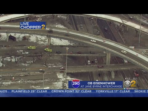 Icy Roads Causing Messy Morning Commute
