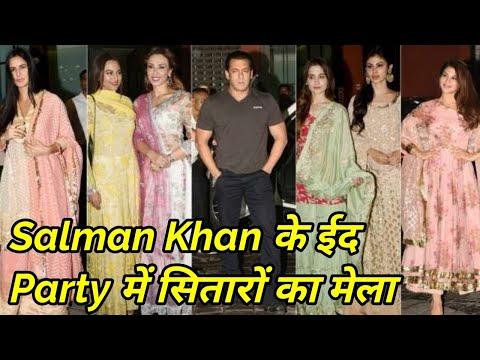 Salman Khan's Eid Party 2018 - Katrina, Jacqueline