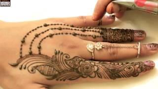 DIY Ornamental Haathphool Modern Mehndi DesignLatest Trendy Henna Mehendi Art Demo 2017Click For Best Mehndi CONES http://amzn.to/2bTRcqaLIKE My FB http://www.facebook.com/MehndiArtisticaMehndi Book http://amzn.to/2bTRcqaClick For Indian Bridal Saree/Wedding Sarees : http://goo.gl/CWw20Mehndi, the ancient art of painting on the skin with henna, beautifies the body, rejuvenates the spirit, and celebrates the joys of creativity and self-expression :)